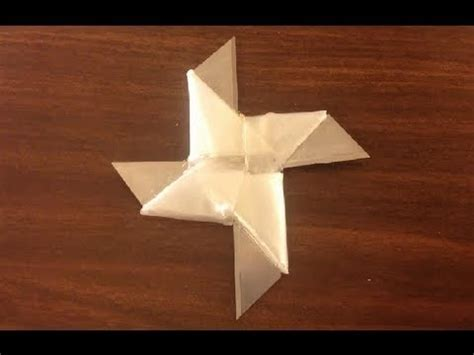 How To Make A Paper Blade - how to make origami blade paper craft project