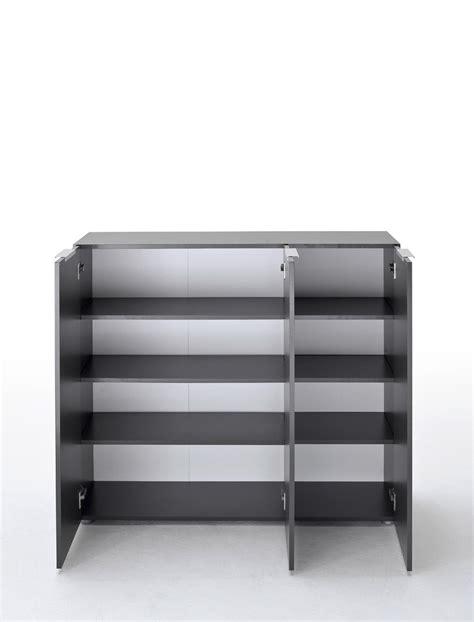 kommode anthrazit kommode anthrazit 120x101x39 cm sideboard garderobe