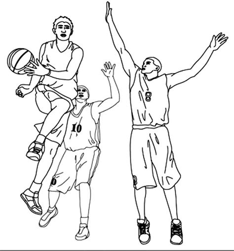 coloring pages nba basketball players basketball player assist in nba coloring page color luna