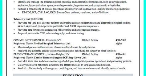 Critical Care Resume Skills Critical Care Resume Has Skills Or Objectives That Are Written To Document Clearly About