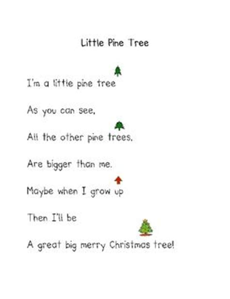 christmas poems christmas poems poem and kindergarten