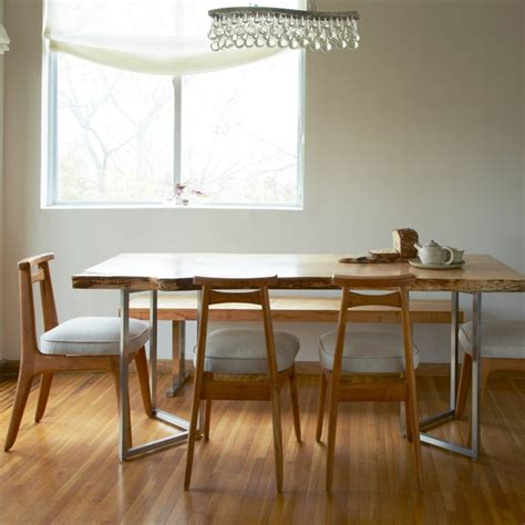mesas de comedor modernas mesas de comedor modernas de madera maciza 50 ideas