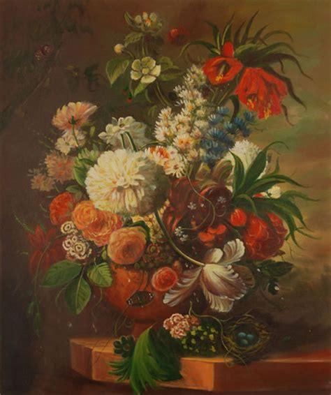 quadri con vasi di fiori falso di autore vaso di fiori di sconosciuto in vendita