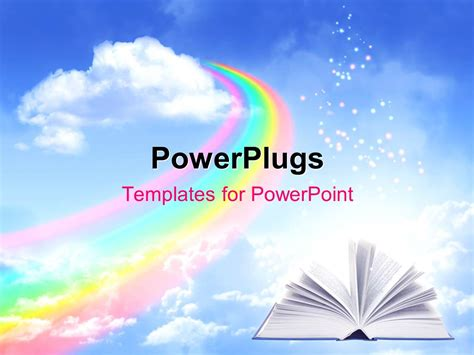 Powerpoint Templates Free Download Rainbow Gallery Powerpoint Template And Layout Powerpoint Rainbow Template