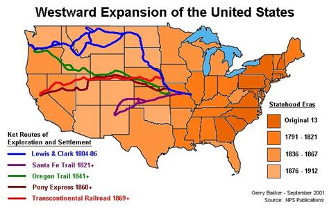map of the united states during westward expansion westward expansion historia magistra