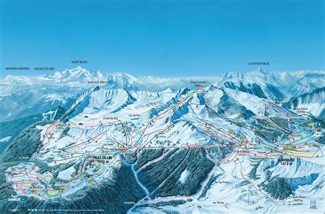 De Lys by Praz De Lys Sommand Plan Des Pistes De Ski Praz De Lys