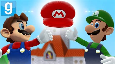 How To Make A Mario Hat Out Of Paper - garry s mod mario lost his hat gmod sandbox