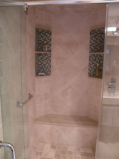 Bathroom Shower Insert Shower Insert Bathroom Tile Mosaic Glass Tile Inserts Bathroom Bathroom