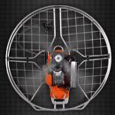 Raket Kevlar powered paragliders propeller solutions for the sports paramotor gliders