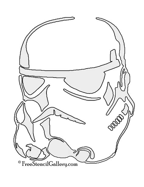 pin stormtrooper stencil template on pinterest