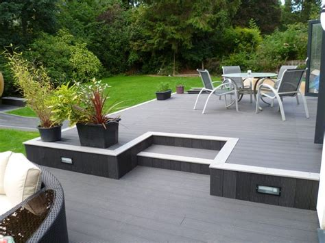 Decking Garden Ideas 25 Best Ideas About Composite Decking On Composite Deck Boards Wood Deck Designs