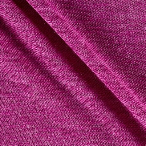 hatchi knit fabric hatchi knit solid jazzberry jam discount designer fabric