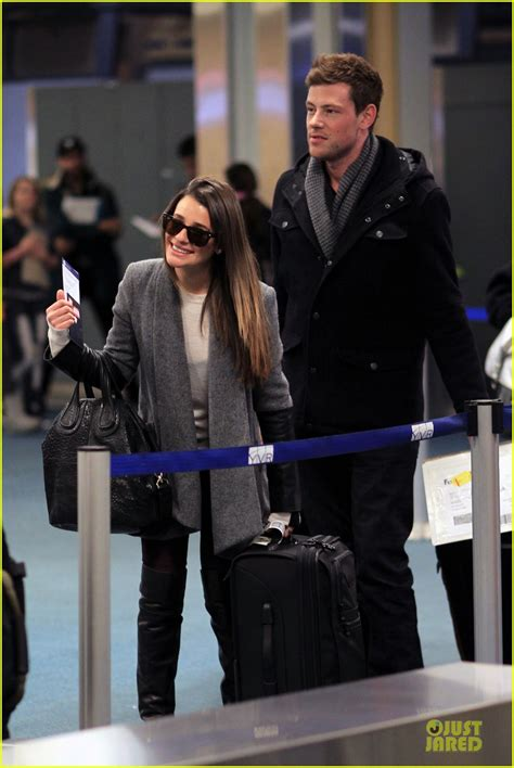 full sized photo of lea michele cory monteith vancouver