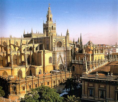Gothic Church Floor Plan by Visit Cathedral Of Seville Seville Giralda Tower