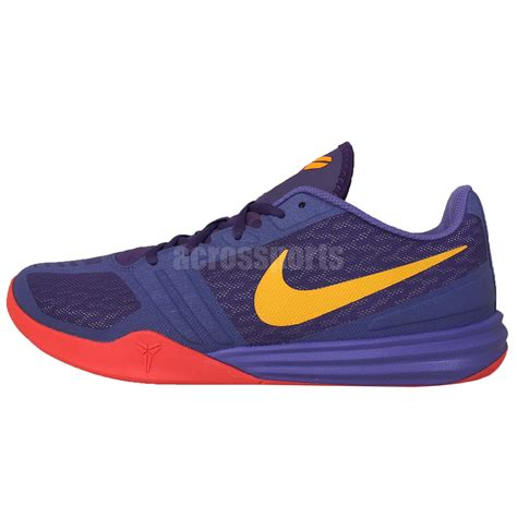 basketball shoes bryant nike kb mentality purple gold 2015 mens bryant mens