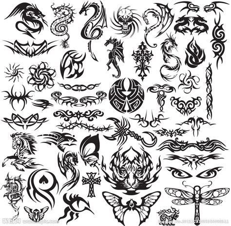 indonesian tribal tattoo meaning 纹身图案矢量图 图片素材 其他 矢量图库 昵图网nipic com