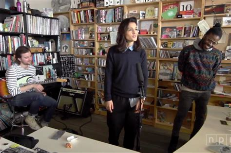 npr small desk ware performs for npr s tiny desk concerts