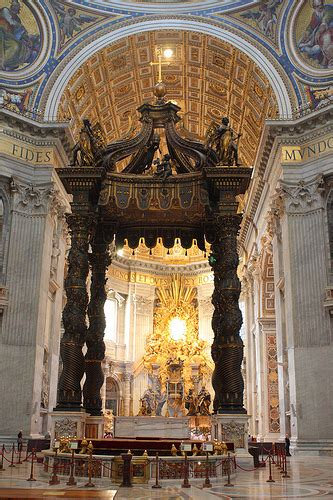 baldacchino by bernini bernini s baldacchino 2 flickr photo
