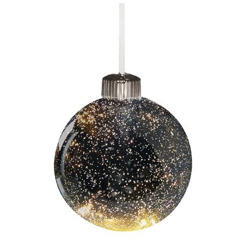 color changing led mercury glass ball hanging holiday tree