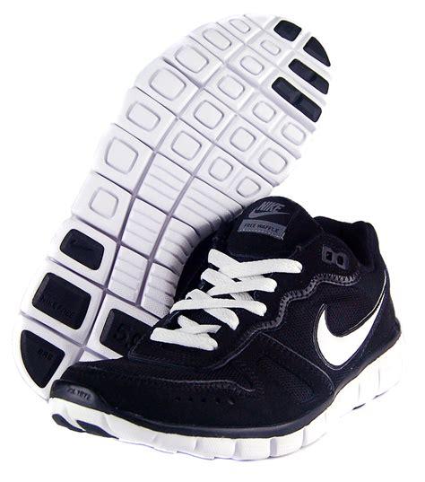 waffle running shoes nike free waffle ac sz 8 mens running shoes black white ebay