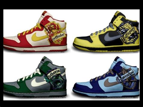 harry potter house shoes harry potter nikes awsome shoes pinterest harry potter