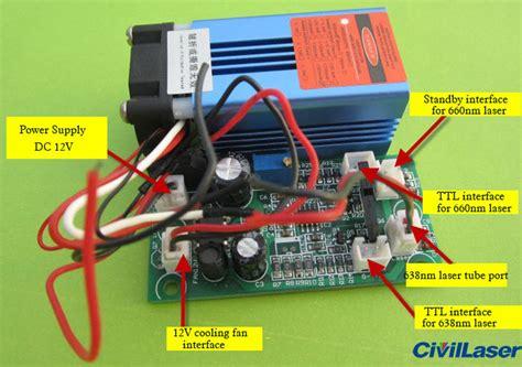 cheap laser diode module 635nm 638nm 300mw 500mw orange laser module dot ttl modulation cheap