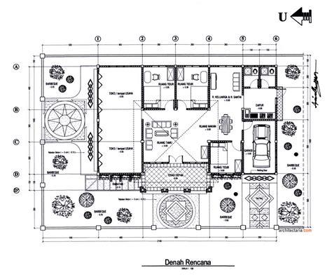 layout kantor dan dasar filling gambar gambar rencana lengkap kerabat rumah