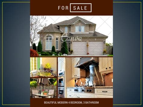 27 gorgeous real estate flyer templates you can create