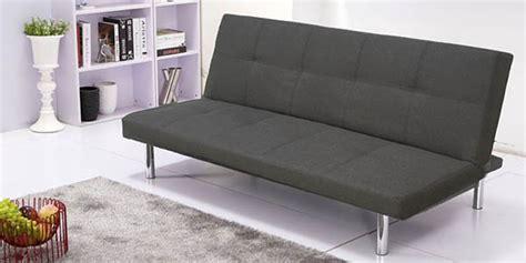 chollo sofa cama clic clac por solo  en gris