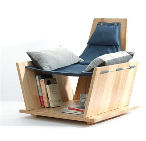 Armchair With Storage Living In A Shoebox