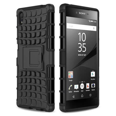 Rugged Armor Sony Xperia Z5 Z5 Plus Premium Dual Casing Cover Hp 1 rugged tough shockproof sony xperia z5 premium black
