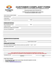 Complaint Forms Template by Complaint Form Templates