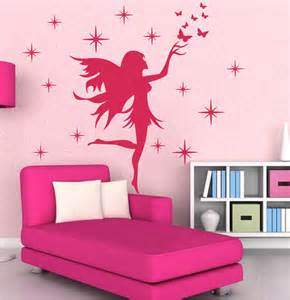 newly designed fairy stars butterflies removable kids wall