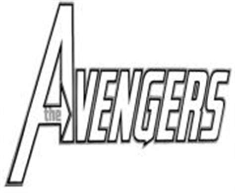 avengers logo coloring page avengers coloring pages