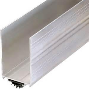 36 quot aluminum door shoe and kickplate hd supply