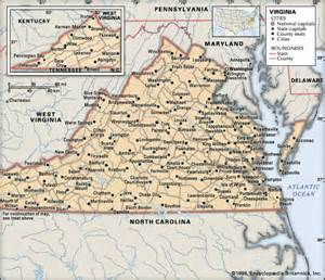 map of virginia and carolina with cities virginia cities encyclopedia children s