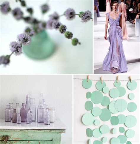 mint and purple wedding weekly wrap up ruffled