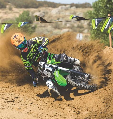 motocross action 250f mxa motocross race test 2018 kawasaki kx250f