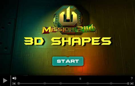 pattern games top marks 3d shape game top marks math pinterest