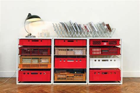 Milk Crate Furniture by Milk Crate Furniture Pallets Crates