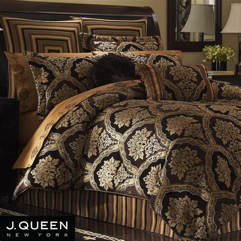 gold and black bedding sets hanover damask comforter bedding by j queen new york