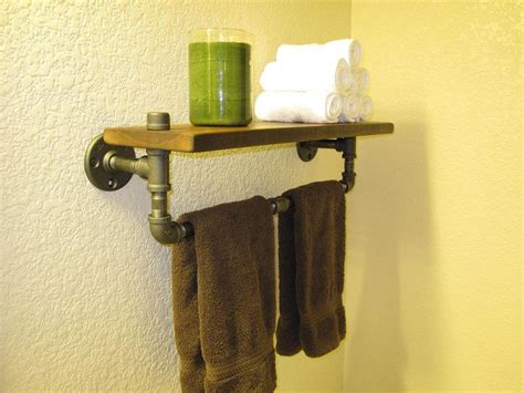 Plumbing Pipe Shelf by Plumbing Pipe Shelf Pipe Shelves