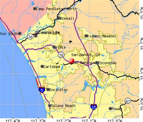 san marcos ca map san marcos california ca profile population maps real
