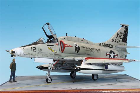 Academy 1 72 Usn F 18e The Hunters istvan michalko s scale models a 4m skyhawk ii hasegawa