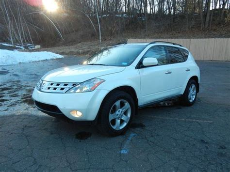 nissan murano gas type sell used 2003 nissan murano se sport utility 4 door 3 5l
