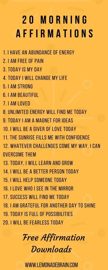 Its All About Affirmation by Positive Affirmations Plus Free Downloadable Files