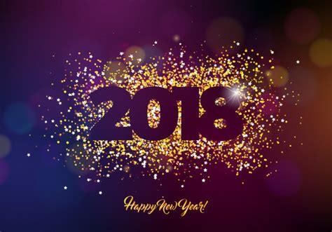 Imagenes Gratis Año Nuevo 2018   2018 feliz a 241 o nuevo fondo ilustraci 243 n con oro
