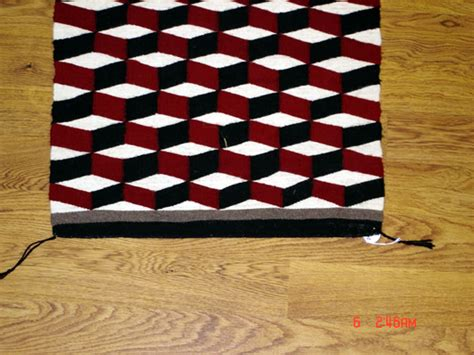 Optical Illusion Rugs For Sale optical illusion navajo rug for sale 23 quot x 35 quot