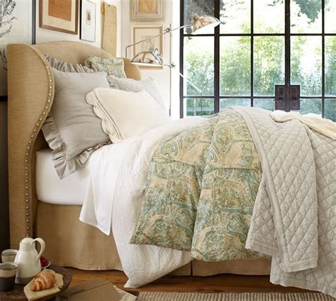 Upholstered Headboard Sale by Pottery Barn Best Selling Upholstered Beds Sale Save Up