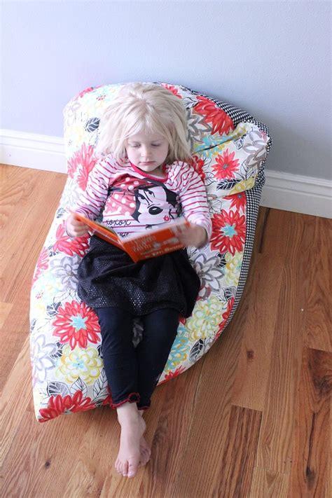 Diy Bean Bag Chair by Simple Diy Bean Bag Chair A Step By Step Tutorial